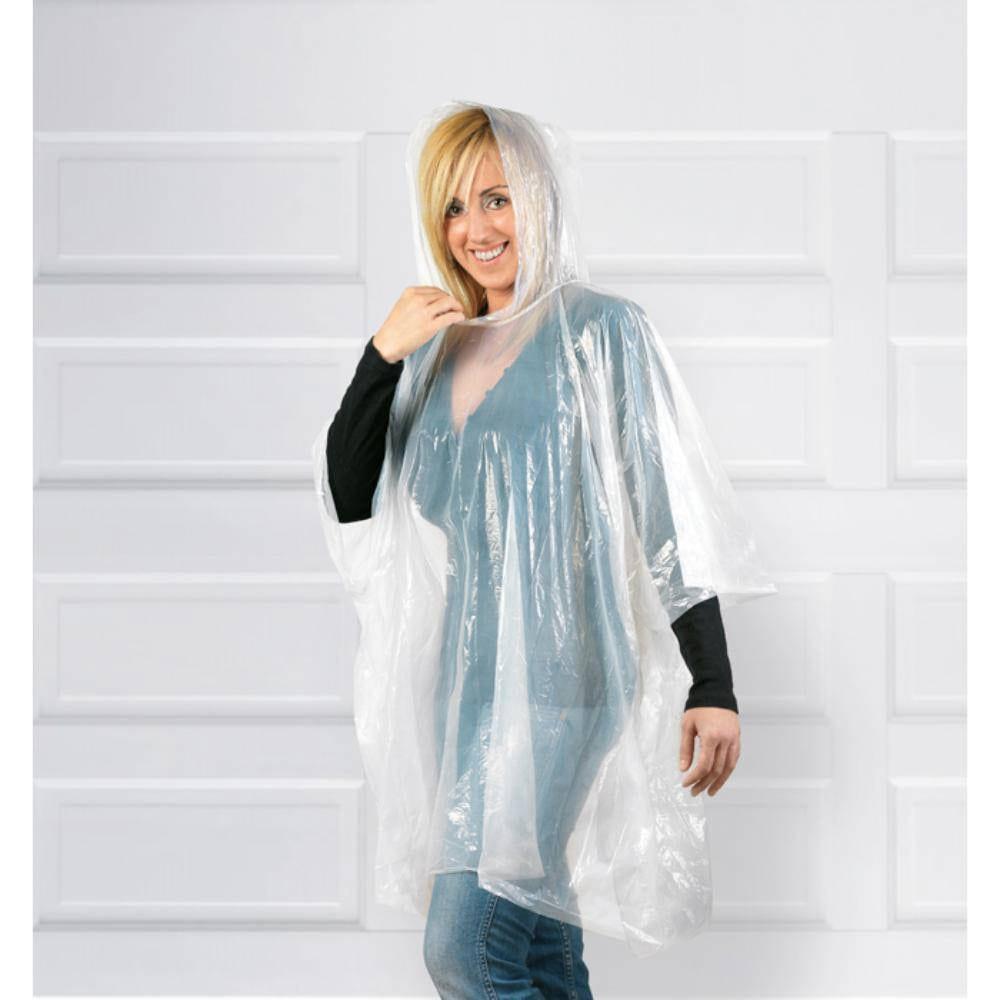 poncho bolsa impermeable colores plastico lluvia