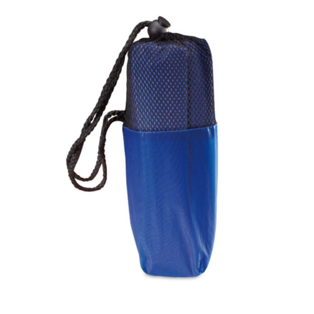 poncho bolsito rejilla amarillo azul rojo negro