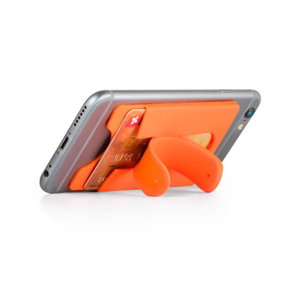 porta tarjetas smartphone silicona soporte movil
