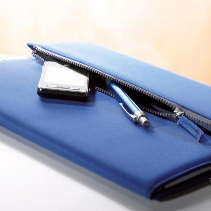 portadocumentos a microfibra bloc bolsillo