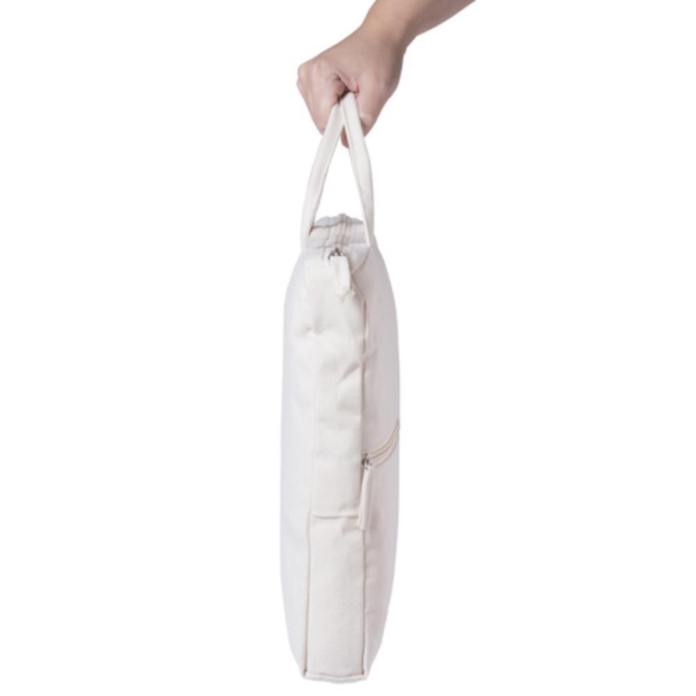 portadocumentos asa corta algodon ecologico