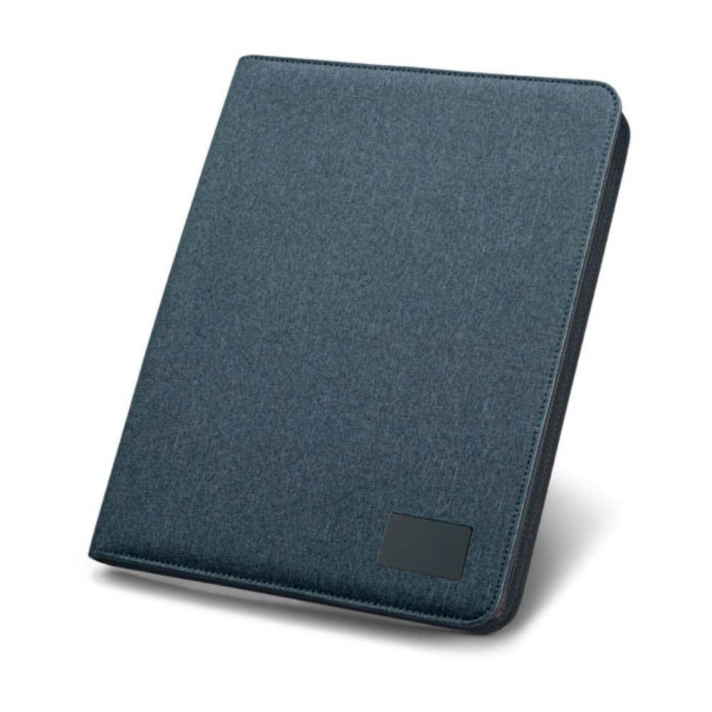 portafolios A polipiel bloc oficina color gris