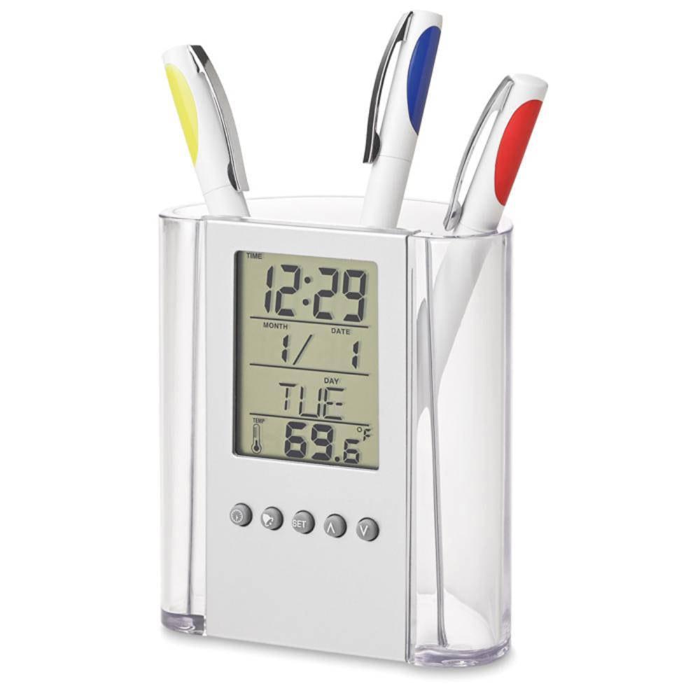 portalapices calendario reloj termometro