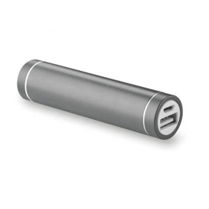powerbank cilindrico aluminio mah cable micro usb