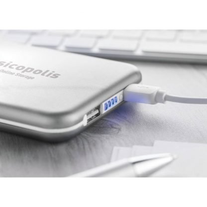 powerbank solar mah smartphone carga cable