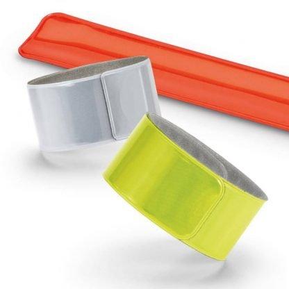 pulsera fluorescente forro terciopelo reflectante