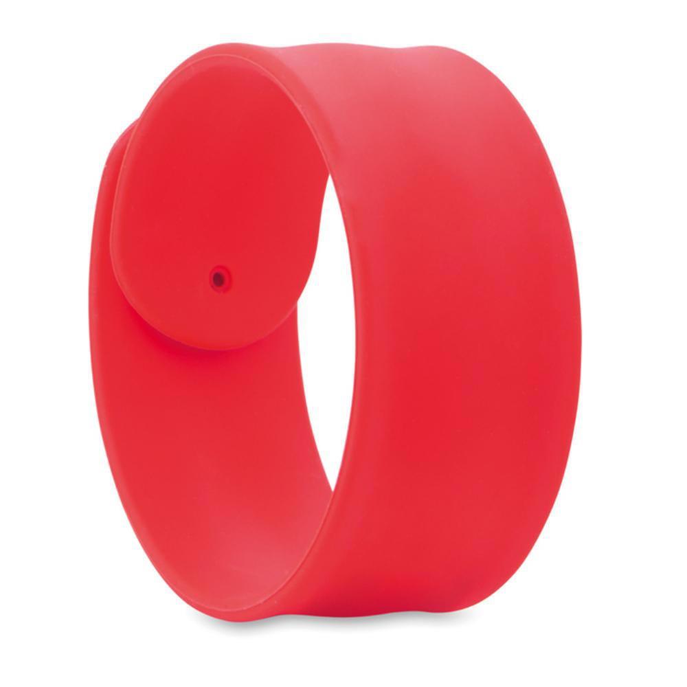 pulsera silicona ancha ajustable