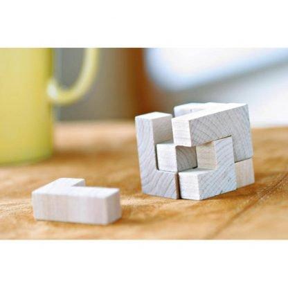 puzzle madera piezas bolsa