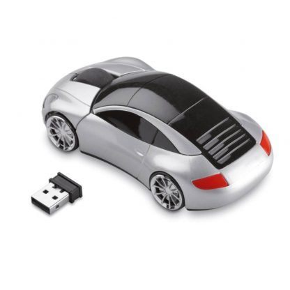 raton inalambrico forma coche