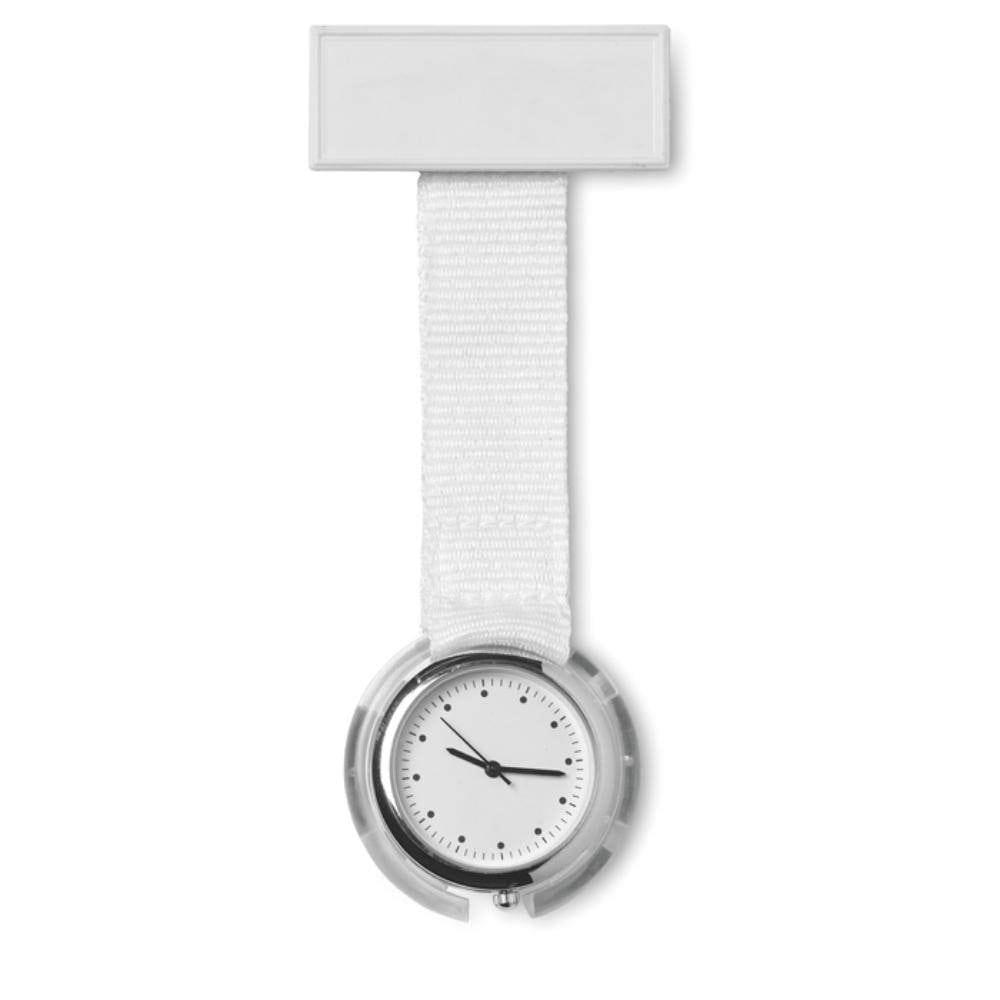 reloj analojico enfermera correa poliester