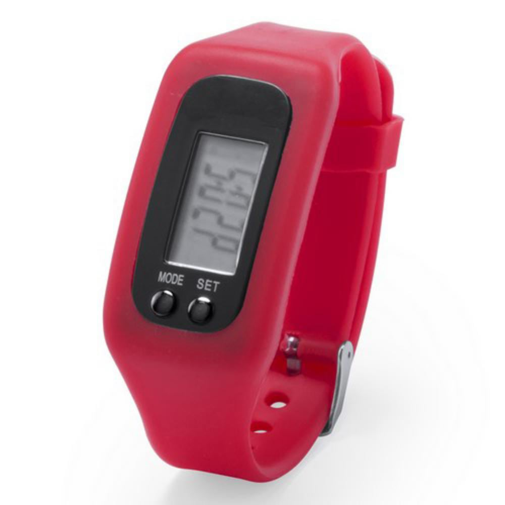 reloj correa silicona azul rojo negro