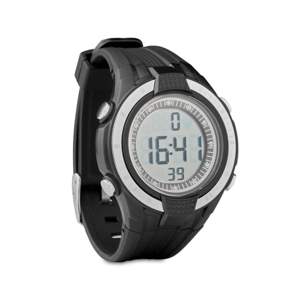 reloj deporte actividad cronometro pulsaciones alarma