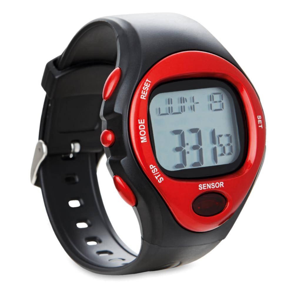 reloj deportivo digital alarma cromometro pulsometro