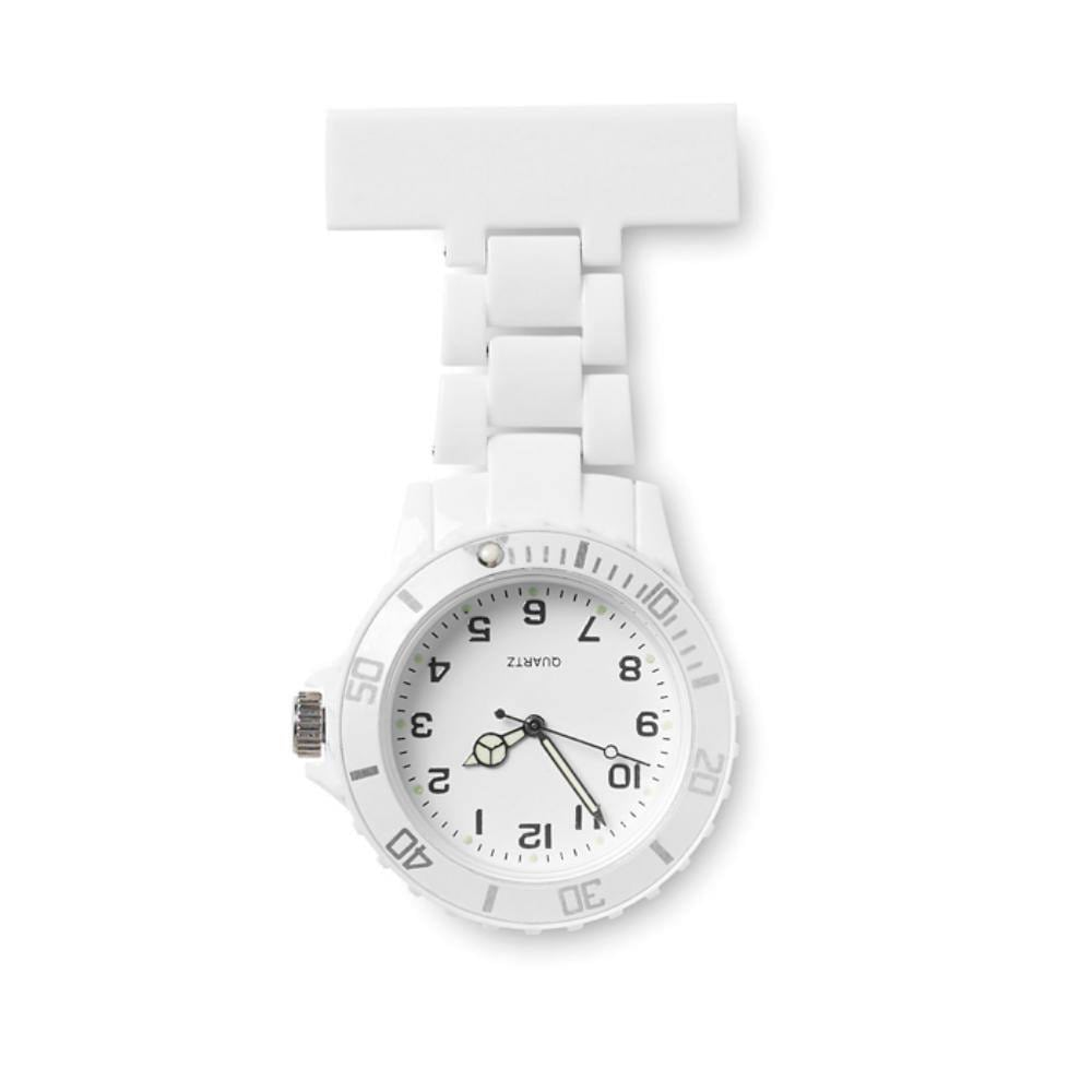 reloj enfermera analogico plastico