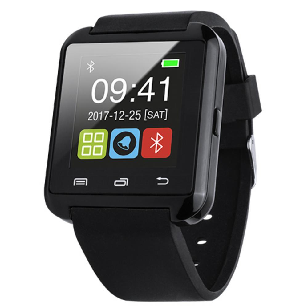 reloj inteligente bluetooth actividades barato negro