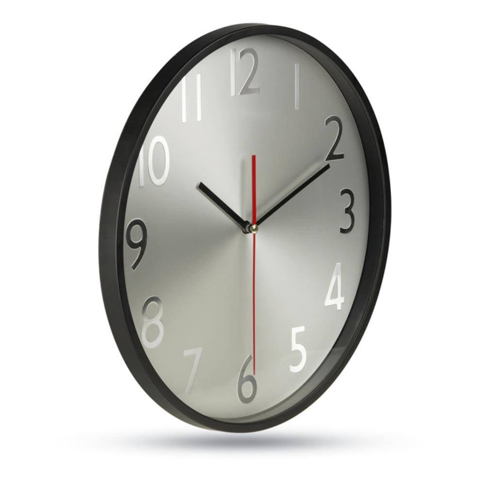 reloj pared esfera aluminio