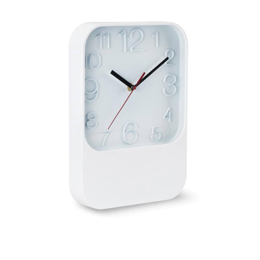 reloj pared rectangular