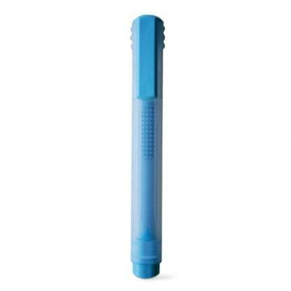 rotulador fluorescente marcador azul amarillo