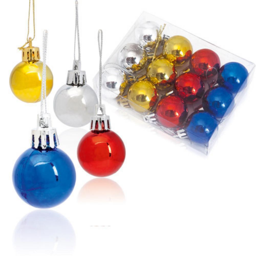 set bolas arbo navidad decoracion