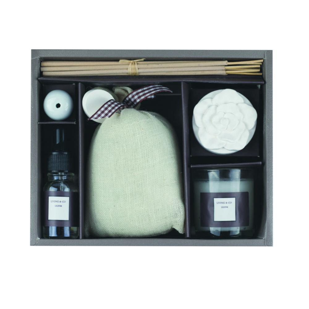 set aromatico fragancias ambientador hogar