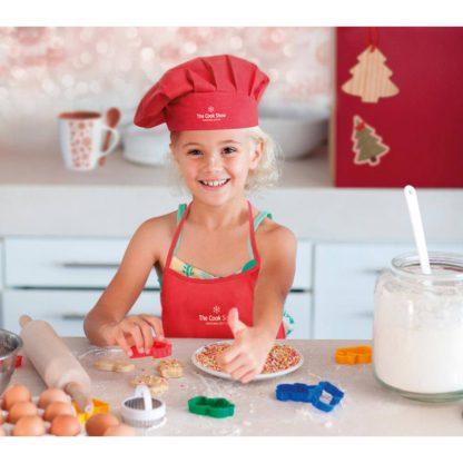 set cocina infantil ninos delantal gorro
