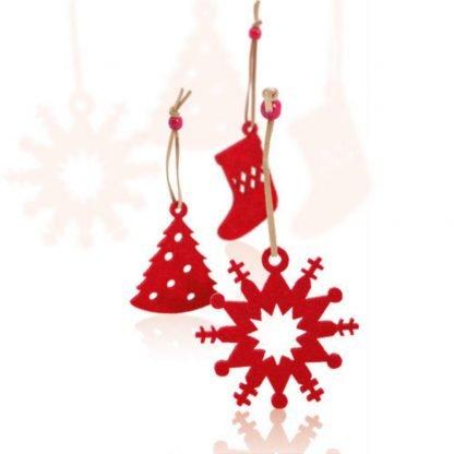 set decorativo navidad arbol