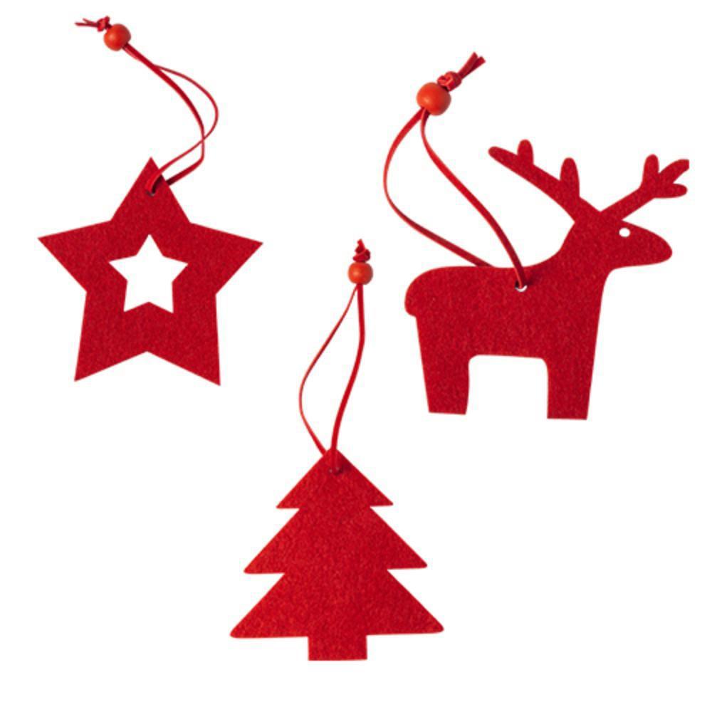 set decorativo navideno piezas arbol