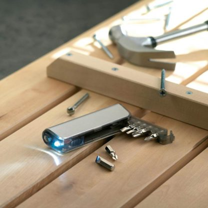 set destornilladores linterna caja plastico