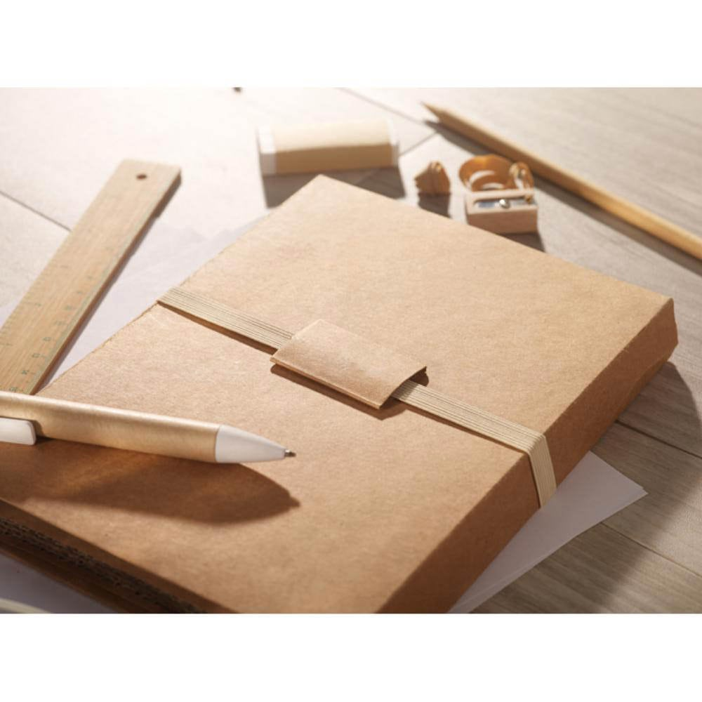 set escritorio piezas carpeta carton