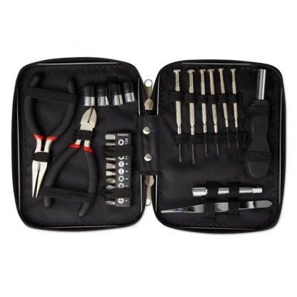 set herramientas caja aluminio