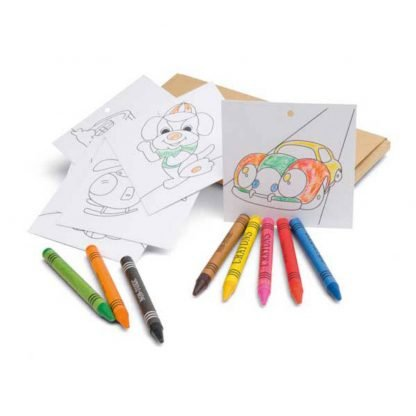 set infantil lapices carton colorear ninos