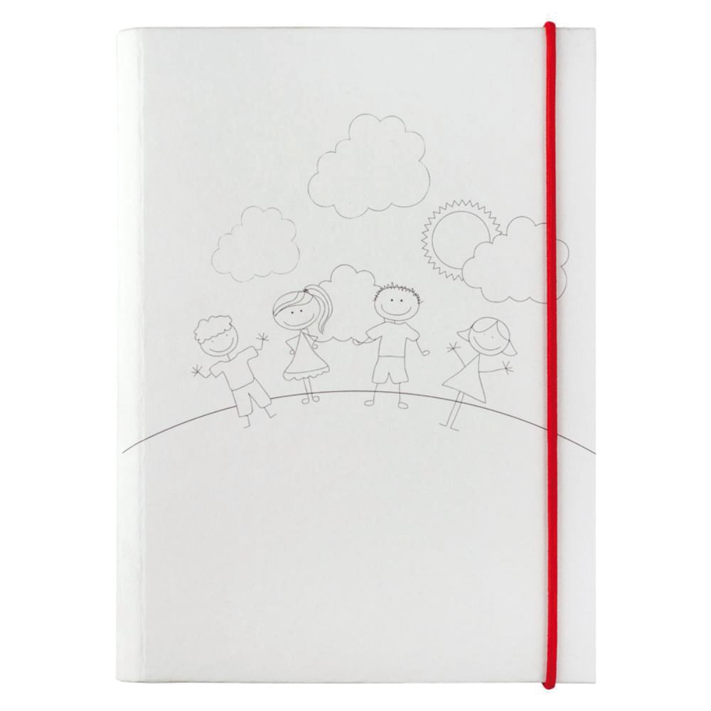 set pinturas infantil forma libro
