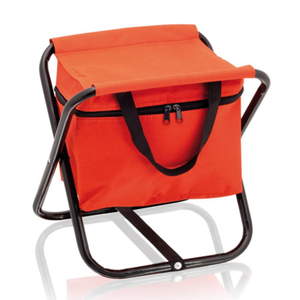 silla nevera plegable playa rojo negro azul