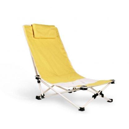 silla playa cojin plegable