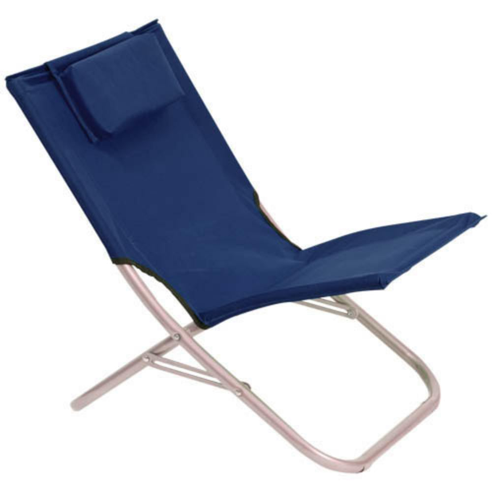 silla poliester plegable almohadilla incluida colores