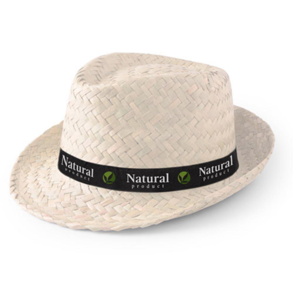 sombrero paja claro oscuro cinta birdada color
