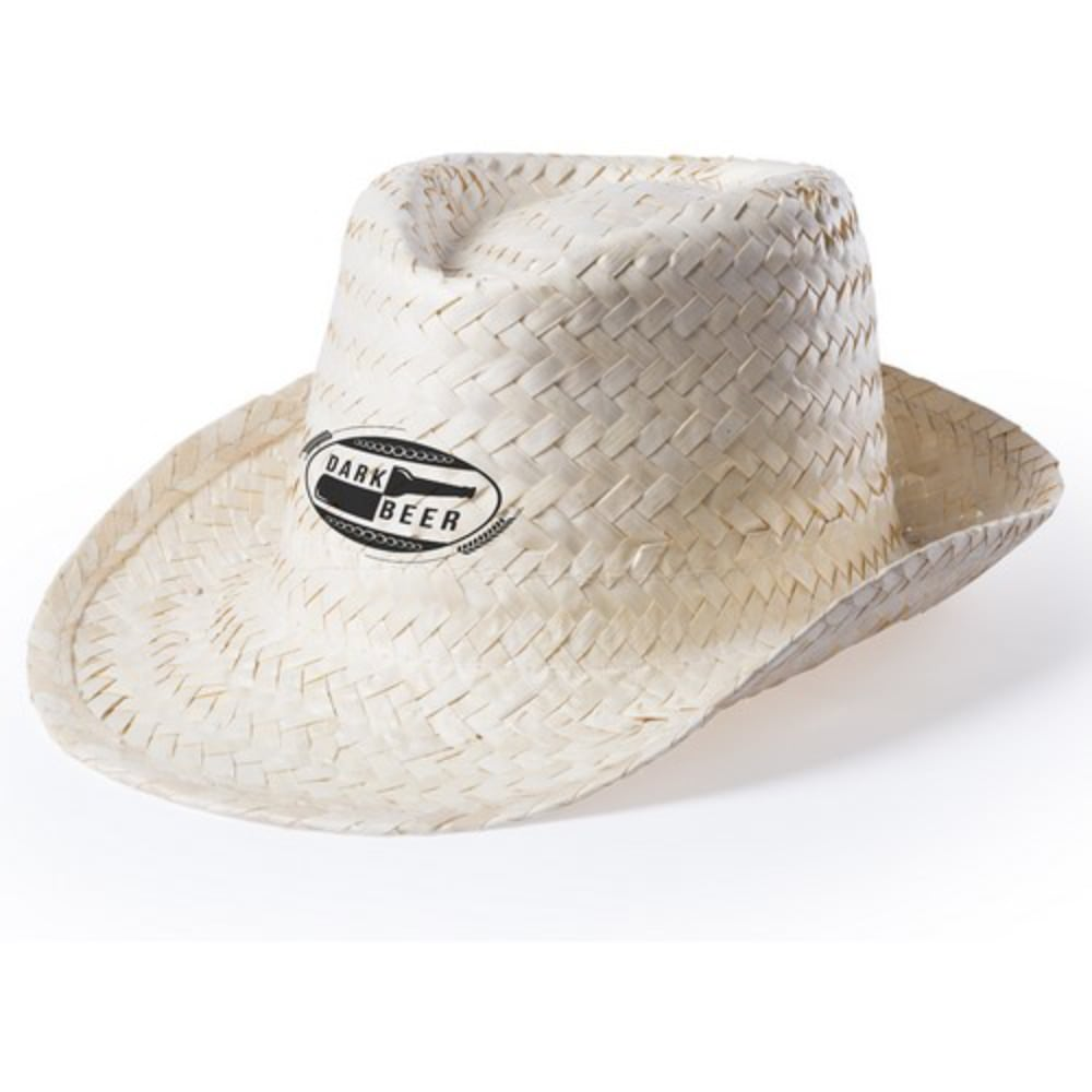 sombrero paja grabacion color unisex