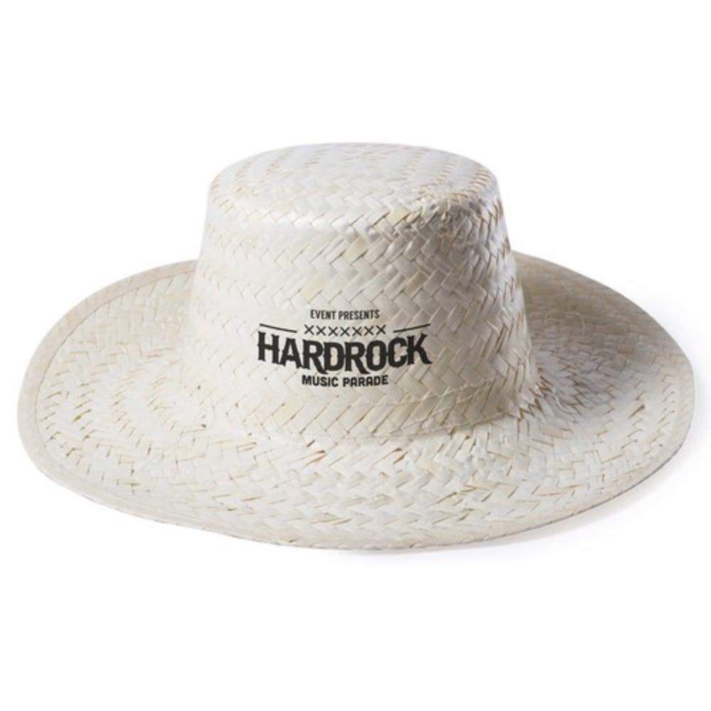 sombrero paja grabacion sombrero color claro