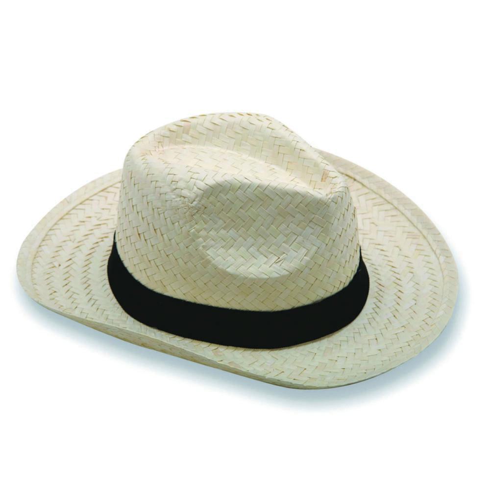 sombrero paja verano publicitario