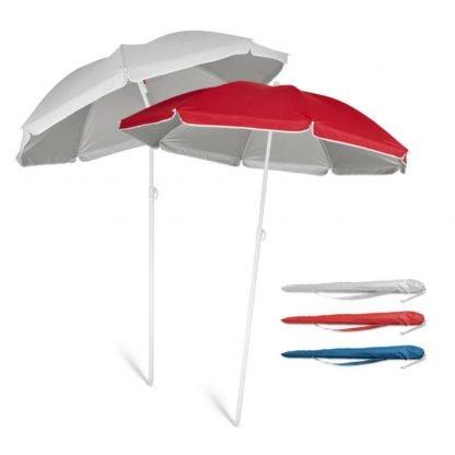 sombrilla funda interior plata verano roja azul