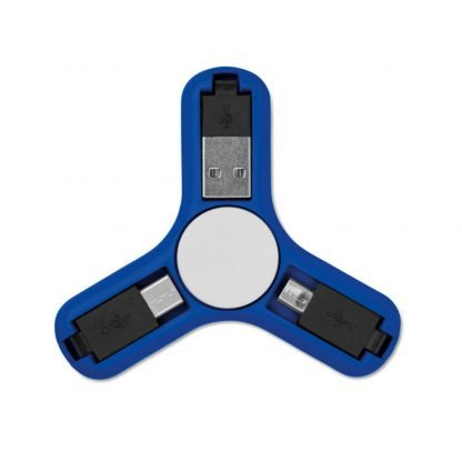 spinner antiestres conectores usb