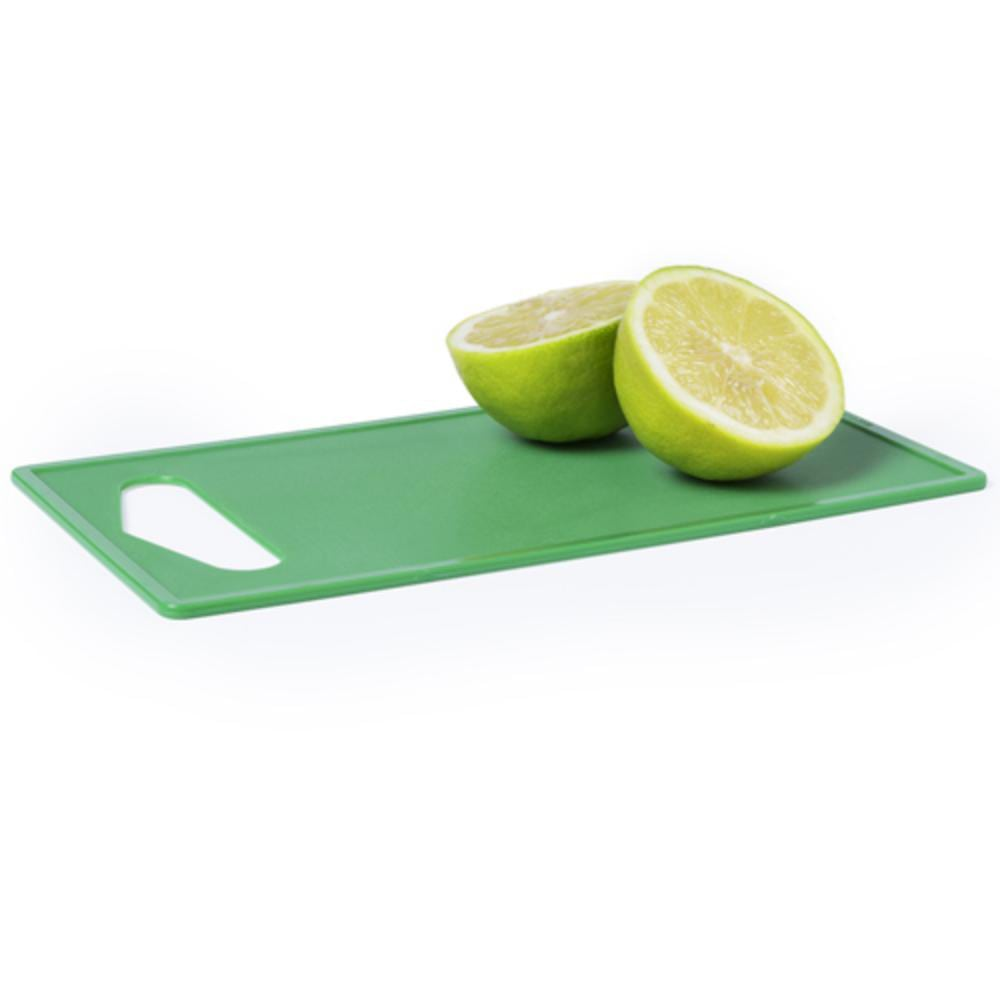 tabla cocina cortar verde rojo naranja azul