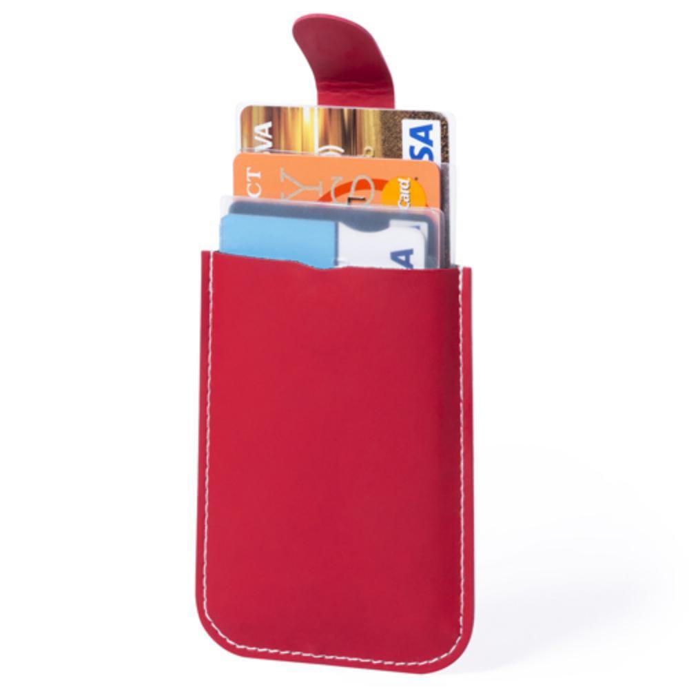 tarjetero polipiel compartimentos protector rfid color