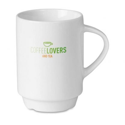 taza cafe ml apilable sin caja hogar blanca