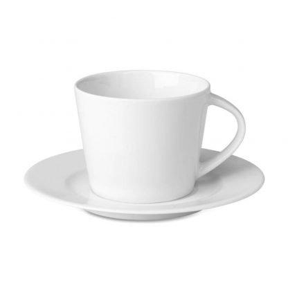 taza capuccino ml ceramica blanca