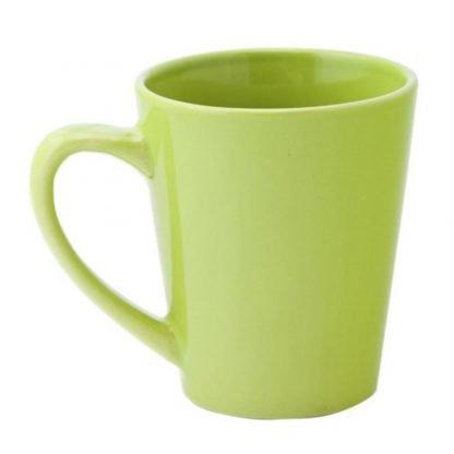 taza ceramica forma conica ml colores