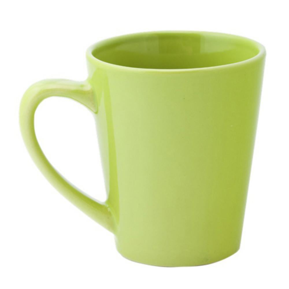 taza ceramica forma conica ml colores
