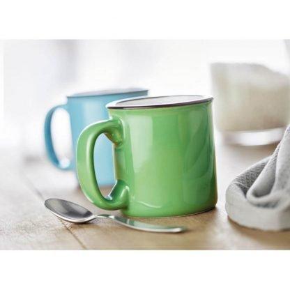 taza ceramica vintage ml colores hogar