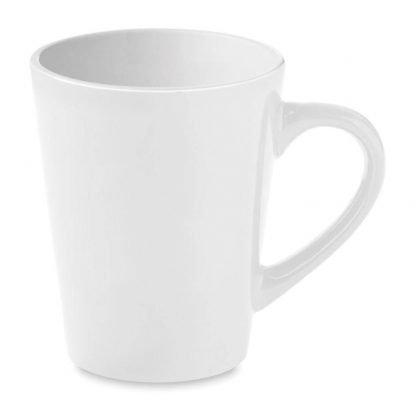 taza mug blanca ceramica ml cajita