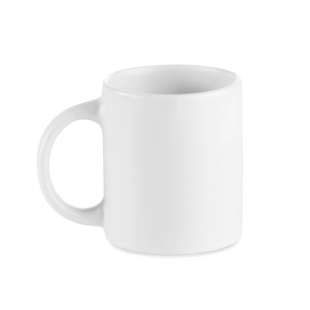 taza mug ceramica blanca no lavavajillas cajita
